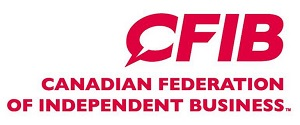 Member of the Canadian Federation of Independent Business (CFIB)